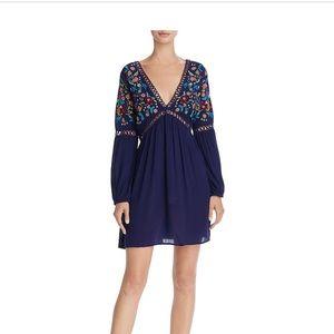 En Creme Embroidered Dress